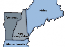 New england colony map from toursmaps 6