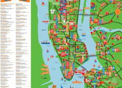 New york tourist map from pinterest 3