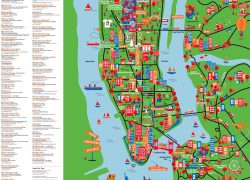 New york tourist map from vidiani 8