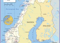 Norway Map: Norway map from nationsonline 1