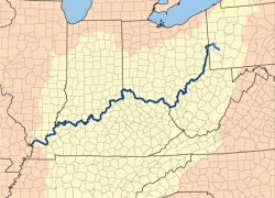 Ohio river map usa from en 3