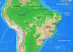Physical map of brazil from alearningfamily 6