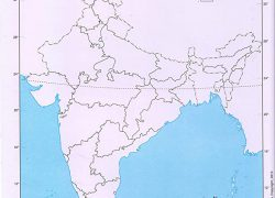 Political map of india blank from amazon 4