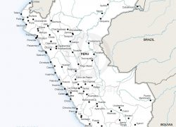 Political map of peru from onestopmap 8