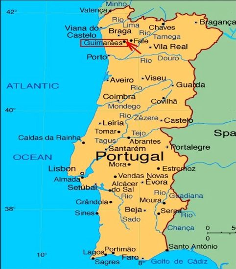 Portugal Map