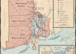 Rhode Island Colony Map: Rhode island colony map from nationalgeographic 1