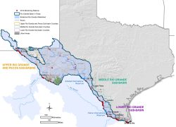 Rio grande texas map from ibwc 7