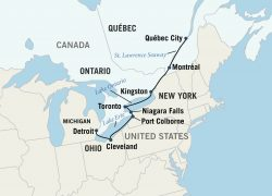 Saint lawrence river map from gonext 10