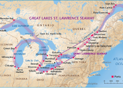 Saint lawrence river map from researchgate 3