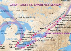 Saint lawrence river map from researchgate 5