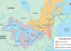 Saint lawrence river map from researchgate 7