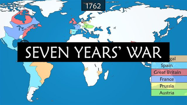 Seven years war map from m 1