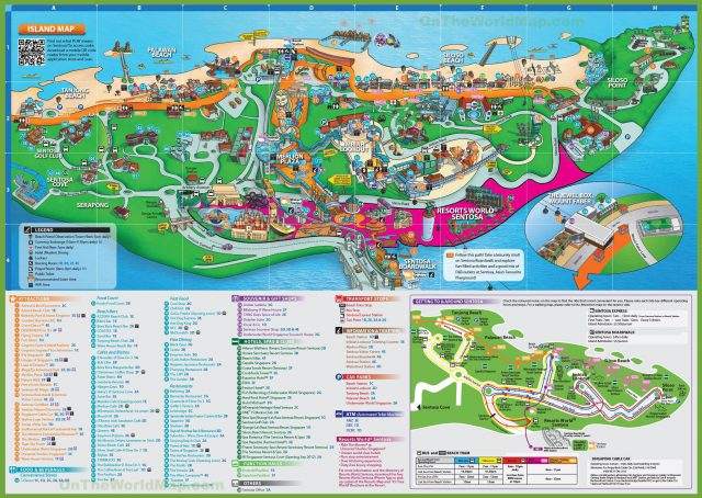 Singapore tourist map 2020 from pinterest 1