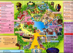 Singapore universal studios map from backpackerlee 10