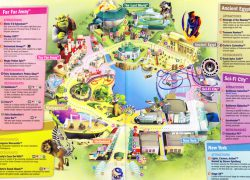 Singapore universal studios map from themeparkreview 4