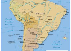 South America Political Map: South america political map from nationsonline 1