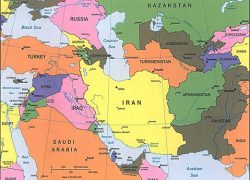 Southwest Asia Political Map: Southwest asia political map from gifex 1