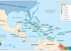 Spanish american war map from themaparchive 8