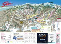 Stowe trail map from snow online 2