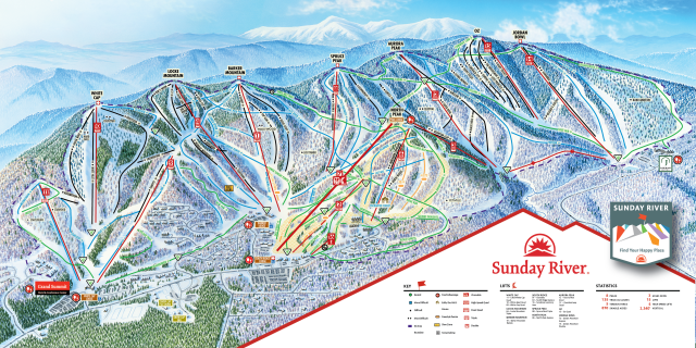 Sunday River Trail Map