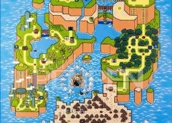 Super mario world map from etsy 5