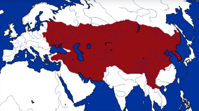 The Mongol Empire Map