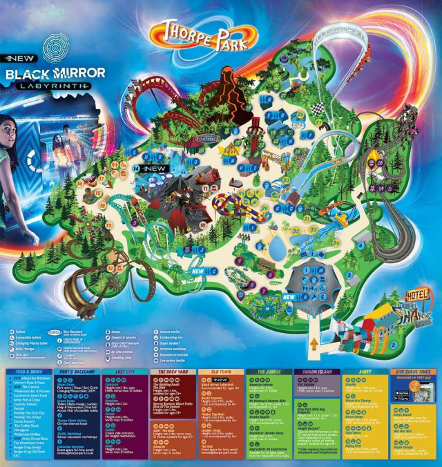Thorpe park map from flickr 1