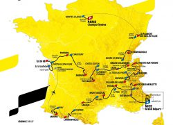 Tour De France 2020 Route Map: Tour de france 2020 route map from cyclingweekly 1
