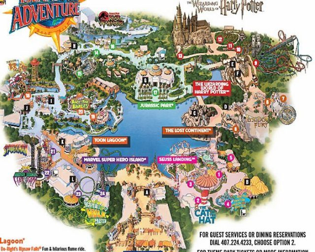 Universal islands of adventure map from pinterest 2