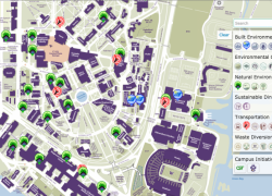 University Of Washington Campus Map: University of washington campus map from green 2