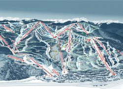 Vail Trail Map: Vail trail map from vail 1