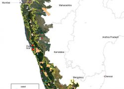 Western ghats map from in 7