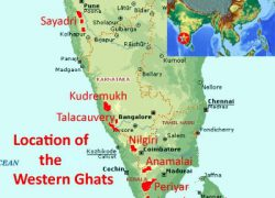 Western ghats map from naturalworldheritagesites 3