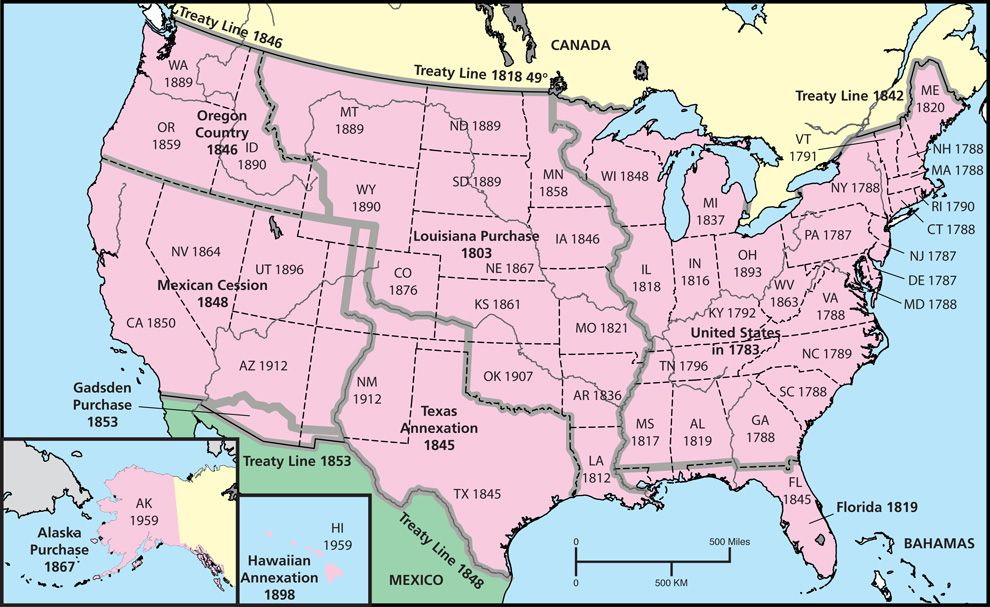 Westward Expansion Map From Admin 5