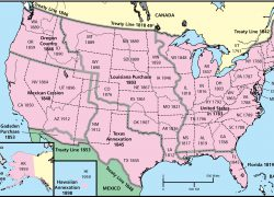 Westward expansion map from choices 7