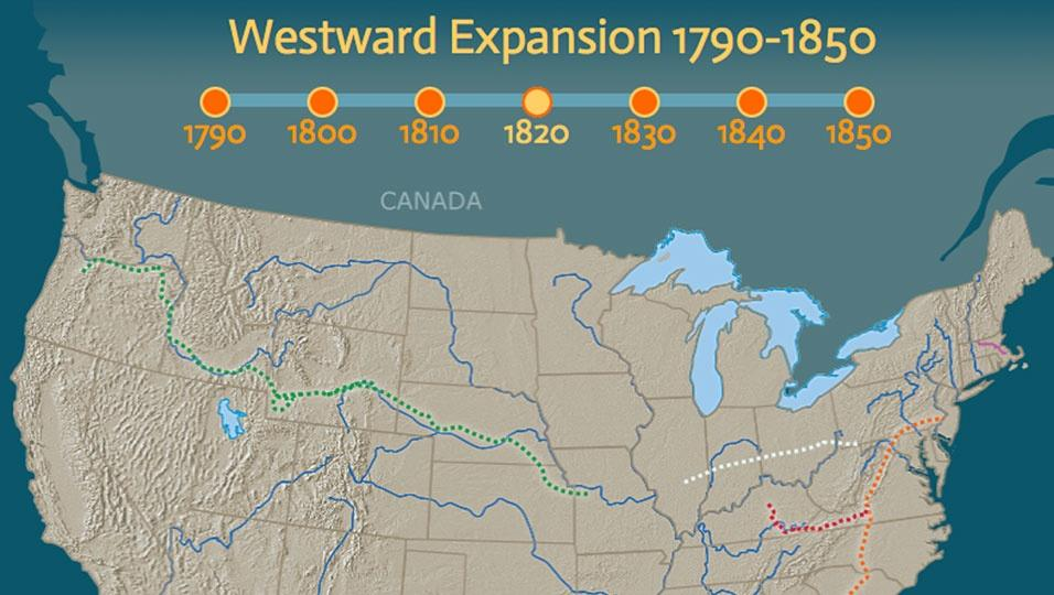 Westward Expansion Map From Pbslearningmedia 3