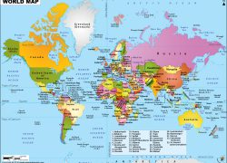 World map hd from mapsofworld 5