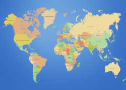 World map hd from visual 7