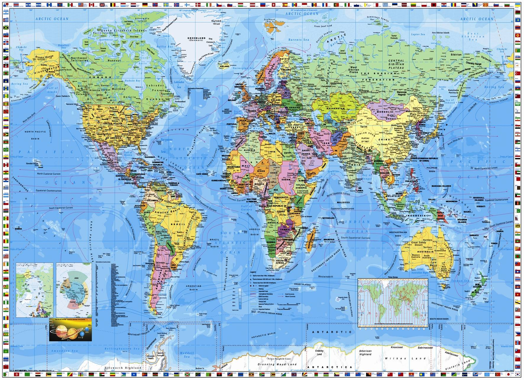 World Map Hd From Wallpapercave 8