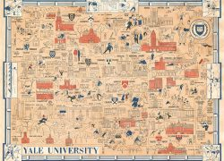 Yale university map from geographicus 6