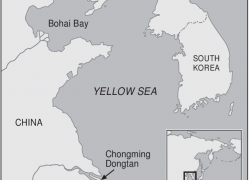 Yellow sea map from researchgate 5