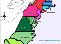 13 Colonies Map With Names: 13 colonies map with names from br 1