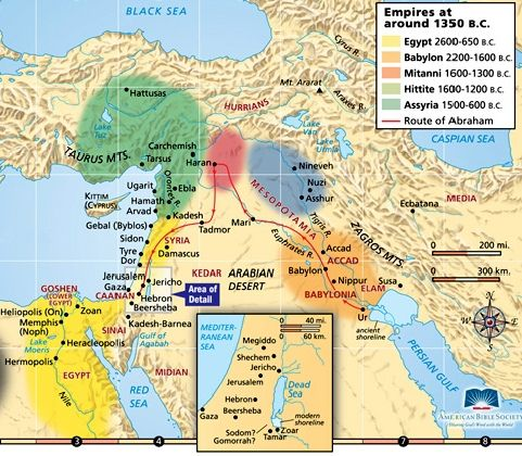 Ancient near east map from pinterest 1