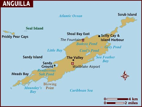 Anguilla map from lonelyplanet 1