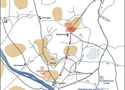 Battle of princeton map from emersonkent 6