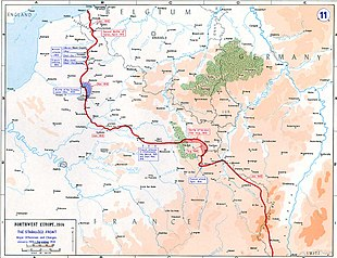 Battle Of The Somme Map