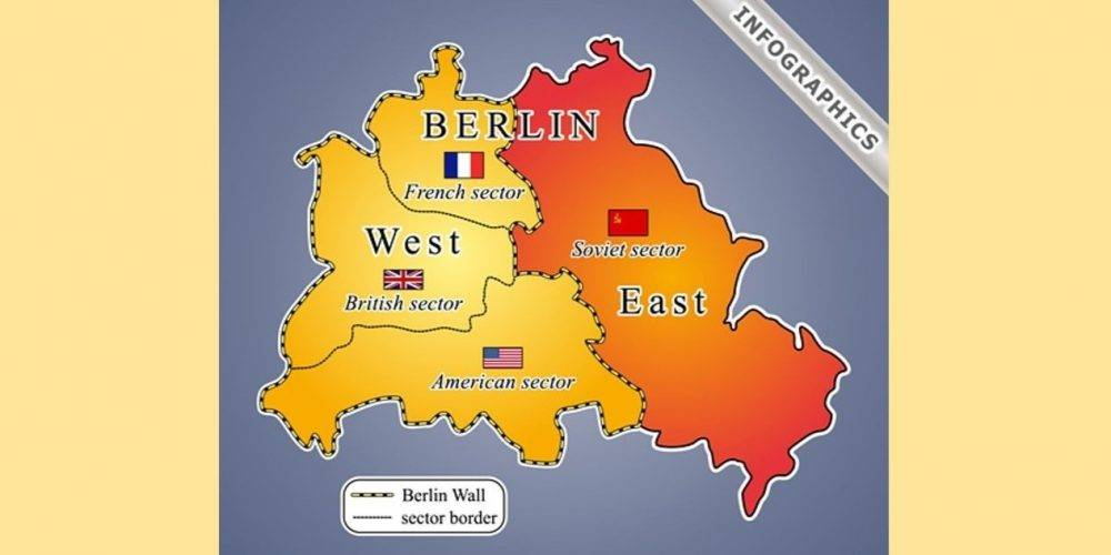 Berlin Wall Map From Newideal 1