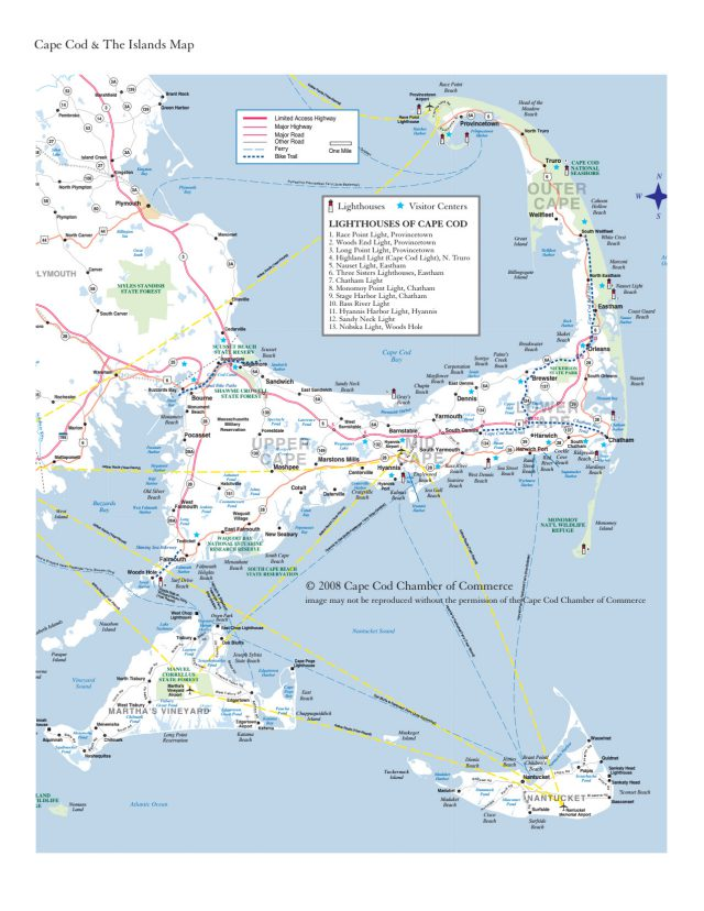 Cape cod map from capecodchamber 1