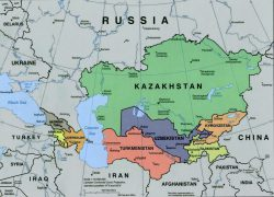 Caspian Sea On World Map: Caspian sea on world map from maps world 1