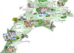 Cotswolds map from pinterest 6